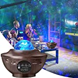 Galaxy Projector,Amouhom Starlight Projector for Kids Baby Led Night Light Star Projector with Bluetooth Speaker for Bedroom Decor Music Ocean Wave Projector Gift for Girl boy Bedroom Living Ceiling