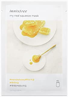 Innisfree My Real Squeeze Mask Sheet 18 types 20m x 10 pcs