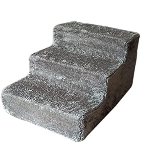 Escalera de esponja cómoda para mascotas, fácil de quitar, lavable, escalones de escalada para mascotas, perros pequeños, gatos, sofás o cama