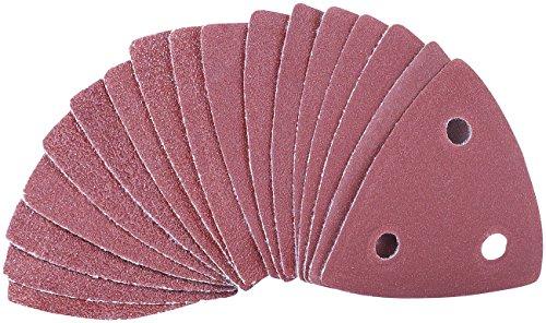 AGT Zubehör zu Multitool Schleifpapier: Schleifpapier für Multifunktionswerkzeug MF-300 und -500, 10er-Set (Multitool Schleifer)
