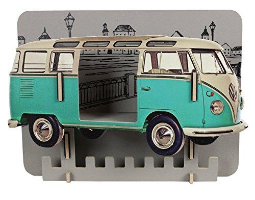 Preisvergleich Produktbild Garderobe VW T1 - türkis