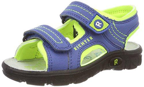 Richter Kinderschuhe Jungen Adventure Outdoor Sandalen, Blau (Cobalt/mais neon), 25 EU