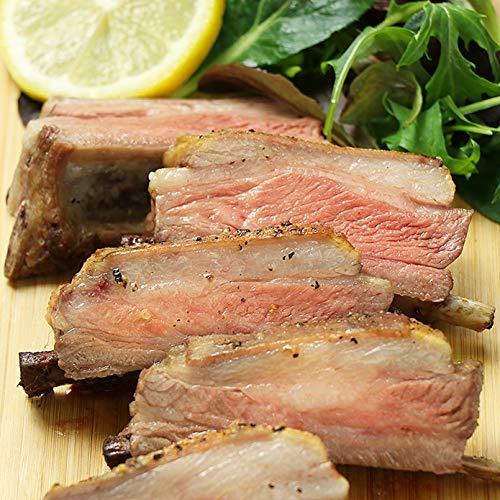 ミートガイ ラムスペアリブ (2ラック入り 約600g) ニュージーランド産 仔羊 ラム肉 羊肉 New Zealand Double Lamb Spare Rib Racks