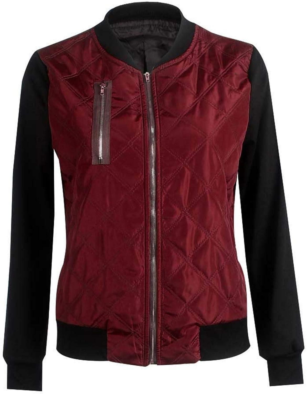 Hioplo New Fashion Women Winter Stand Collar Long Sleeve Zipper Thicken Jacket Outwear Black