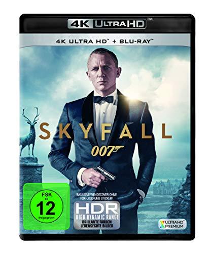 James Bond - Skyfall  (4K Ultra HD) (+ Blu-ray 2D) [Alemania] [Blu-ray]