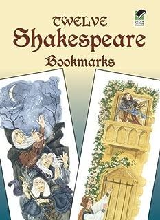 Twelve Shakespeare Bookmarks by Steven James Petruccio (Dec 1 2004)