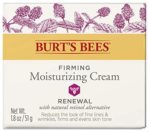 51rh0RP0PDL - Burt's Bees Renewal Firming Moisturizing Cream with Bakuchiol Natural Retinol Alternative – 1.8 ounces (Packaging May Vary)