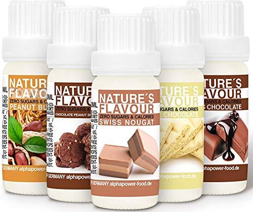 ALPHAPOWER FOOD Aromas alimentarios por repostería y bebidas I Súper pack ahorro...
