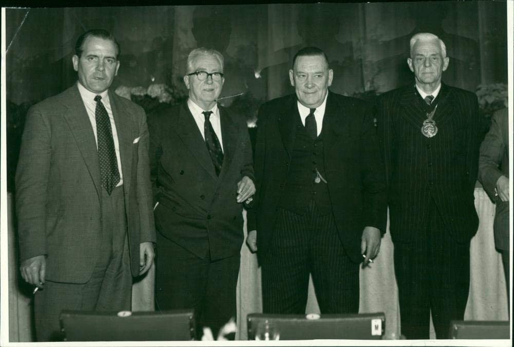 Vintage photo Charlotte Mall of E. J. Hill Dan A Challenge the lowest price and Edward McGarvey Evans L.