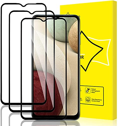 Babeel [3 Pack] Screen Protector for Oppo F7 Youth Screen Protector, [HD Full Coverage] [Easy Installation] [Scratch Resistant] [9H Hardness] [Bubble Free] Protective Film,Black
