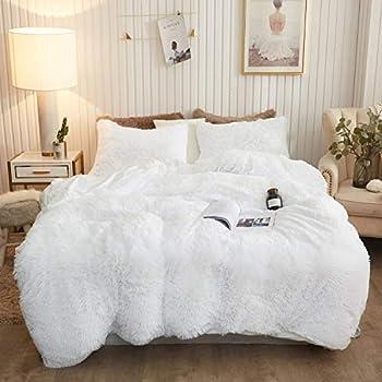 Best white fur bedding Reviews