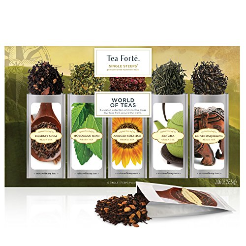 Té Hojas Sueltas World of Teas UN SOLO USO Tea Forte
