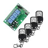 AC 85V ~ 250V 110V 220V 4 canaux télécommande télécommande sans fil Commutateur...