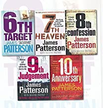 James Patterson Collection Women's Murder Club 6 to 10 5 Books Bundle (The 6th Target,7th Heaven,8th Confession,9th Judgem...