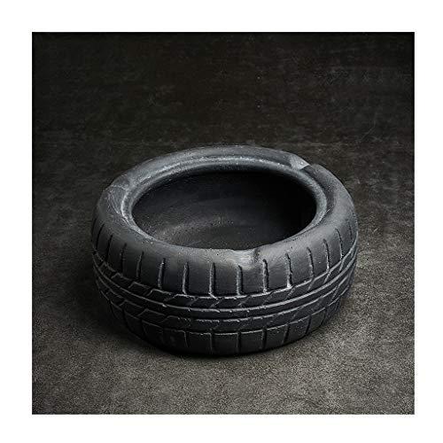 Cenicero creativo Neumáticos de cemento Vintage cenicero, cigarros cenicero, estilo industrial, de...