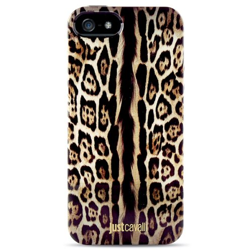 Just Cavalli JCIPC5LEOPARD1 Custodia per Cellulare 10,2 cm (4') Cover Multicolore