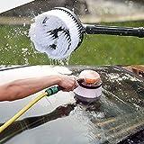 ZREAL Spazzola rotante Universale Rondella di pressione Pulitore per tubi Strumenti per la pulizia dell'auto