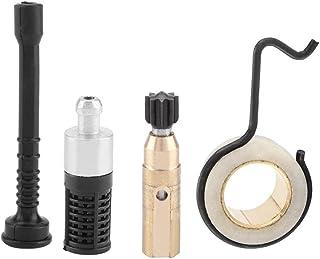 Kit de engranaje helicoidal de bomba de aceite, incluye bomba de aceite/engranaje helicoidal/tubo de aceite/filtro de aceite, se adapta a STIHL MS 250 MS230 MS 210