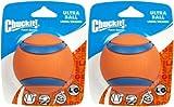 Chuckit Ball Ultra Ball Large (Set of 2), Dog Fetch Toy