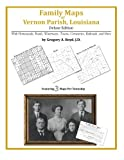 Family Maps of Vernon Parish, Louisiana