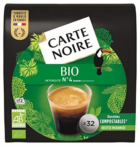 Carte Noire Café Bio - 320 dosettes (10 packs de 32) compatibles Senseo®*