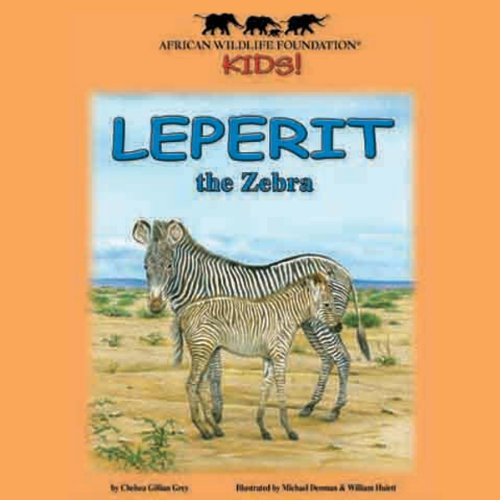 Leperit the Zebra audiobook cover art