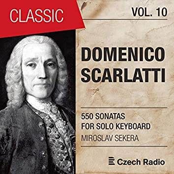 Domenico Scarlatti: 550 Sonatas for Solo Keyboard, Vol. 10 (Miroslav Sekera)