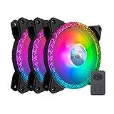 CoolerMaster MasterFan MF120 Prismatic 3in1 PCケースファン 120mm RGB搭載 3個パック MFY-B2DN-203PA-R1 FN1506
