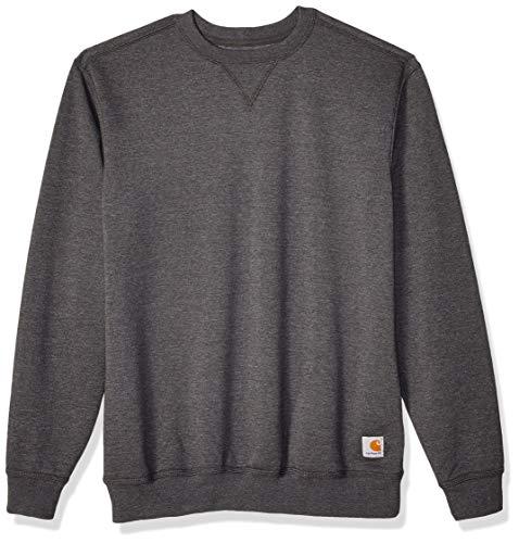 Carhartt Carhartt Herren Midweight Crewneck Sweatshirt, Carbon Heather, XL