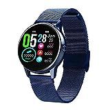 Precauti DT88 Reloj Inteligente con Pantalla táctil de Moda para Mujer Bluetooth IP68 a Prueba de Agua