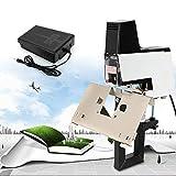 Binding Machine - Electric Stapler Flat,Auto Electric Rapid Stapler Binder Machine Saddle Book