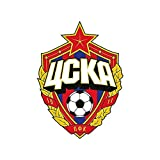 13cm x 9.5cm para CSKA Moscú UCKA Gráficos de fútbol Divertidos autoadhesivos y calcomanías Parachoques Laptop Bike Sticker