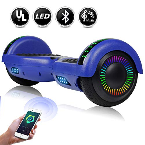 EPCTEK 6.5' Hoverboard for Kids Adults - UL2272 Certified Self Balancing Hover...