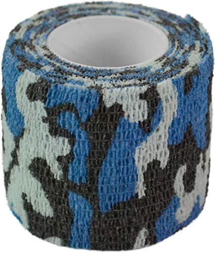 normani Outdoor Tarnband selbsthaftend 5 cm x 4,5 m Farbe SkyBlue