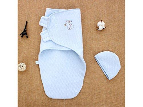 Bébé Cadeau doux pour enfant Fox Motif sac de couchage Anti-kick Lit pour nid d'ange 0–3 mois