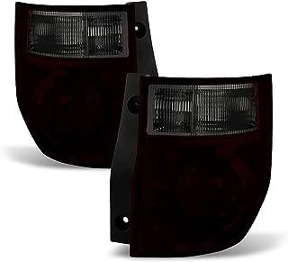 ACANII - For Red Smoke 2003-2008 Honda Element Tail Lights Brake Lamps 03-08 Left+Right
