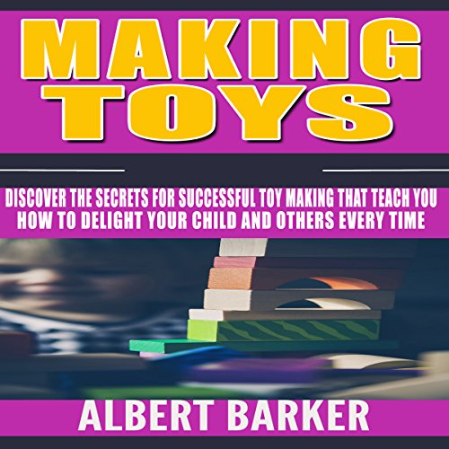 Making Toys audiobook cover art