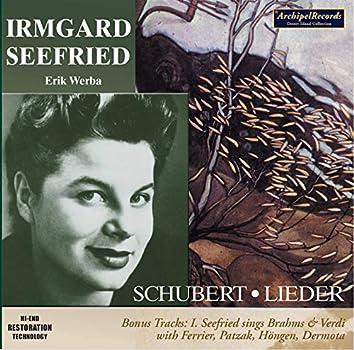 Schubert, Brahms & Verdi: Vocal Works