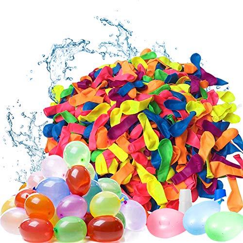 1000 Stück Wasserbomben,Wassergefüllter Ball,Wassergefüllter interaktiver Gummi Big...