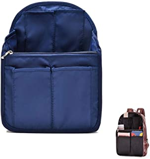 HOYOFO Backpack Organizer Insert Travel Backpack Purse Organizer for Mens and Womens Shoulder Bags, Navy Blue