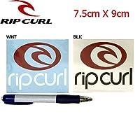RIP CURL リップカール カッティングステッカー 2カラー BLK F