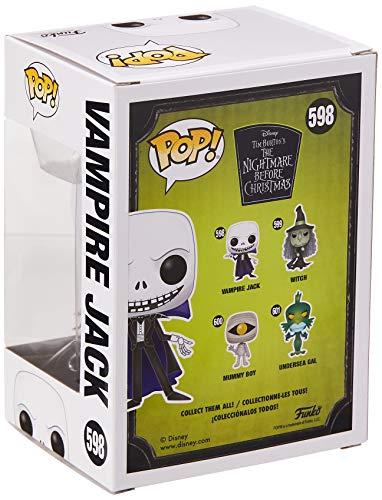 Pop! Figura De Vinil: Disney: Nightmare Before Christmas- Vampire Jack 3