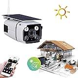 Balscw-J Alarme/Enregistrement de détection de Mouvement de Vision Nocturne avec capteurs solaires...