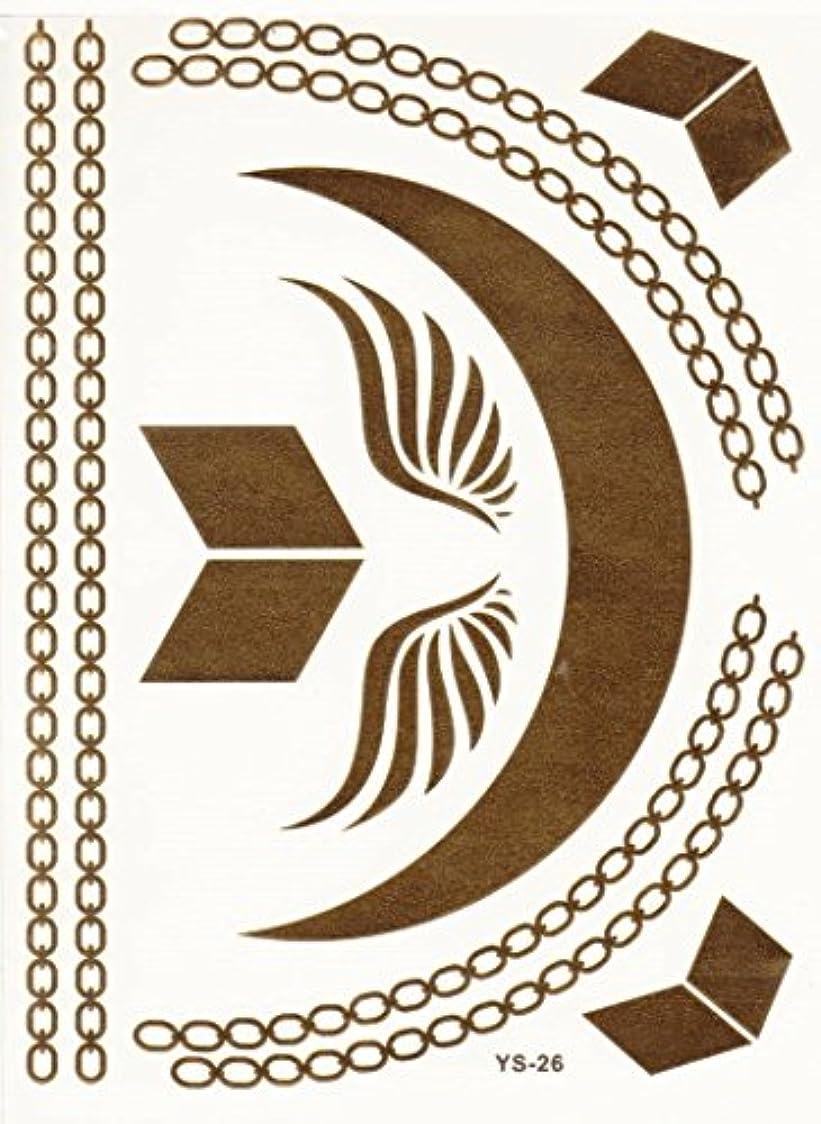 姓対角線スイス人フラッシュタトゥー FLASH TATTOOS タトゥーシール 10