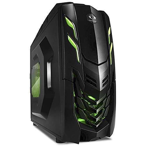 AMD 3.6GHz Quad Core Gaming PC Computer 16GB 2TB New Fast Custom Built Desktop System WiFi and Games