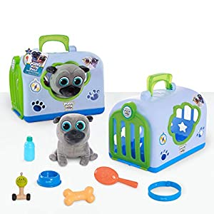 puppy dog pals groom and go pet carrier, bingo - 51rhHo3GuYL - Puppy Dog Pals Groom and Go Pet Carrier, Bingo