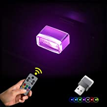 SUNDERPOWER Mini USB Light, RGB Car LED Interior Lighting Kit, USB LED Atmosphere Light with Remote Controller for Car, Laptop, Home Decoration Night Lamp