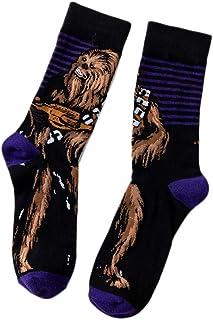 Peahop, 1 par de calcetines Star Wars, calcetines de algodón, Star Skateboard, dibujos animados, medias de movimiento, personaje bandera Elite a