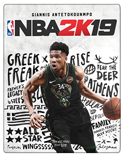 NBA 2K19 Steelbook Edition - Day-one Limited - PlayStation 4