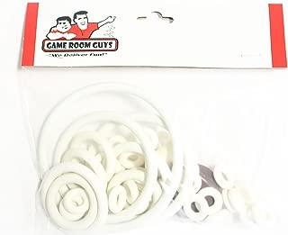 Game Room Guys Gottlieb Bumper Pool Pinball White Rubber Ring Kit